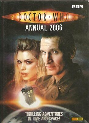 Doctor Who Annual, 2006 by Philip MacDonald Hardback Book The Cheap Fast Free
