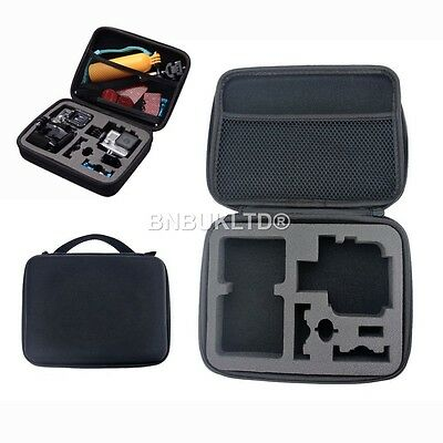 aMedium Middle Travel Carry Case Bag for Go Pro GoPro Hero 1 2 3 3+ 4 Camera