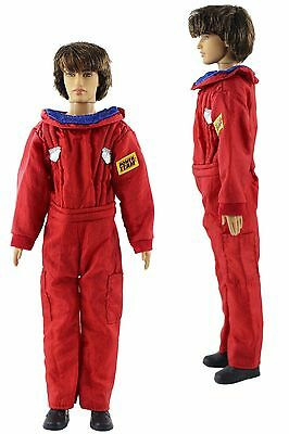 Red Fashion Space Suit Outfits/Clothes For Barbie's boy friend Ken Doll B035U