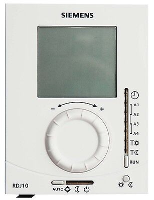 SIEMENS RDJ10-GB Daily Digital Programmable Room Central Heating Thermostat