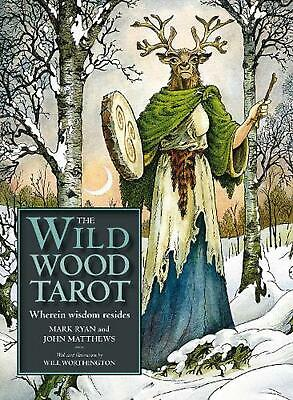 Wildwood Tarot by Mark Ryan (English) Book & Merchandise Book Free Shipping!
