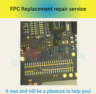 Digitizer Touch Screen FPC Connector Repair Replacement  Service iPhone 6