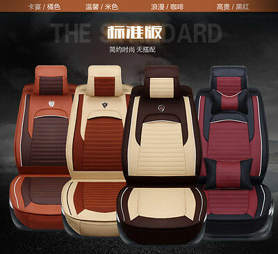 2016 NEW Fabric Car Seat Cushion Seat Cover For all car 6pcs/set Size XL