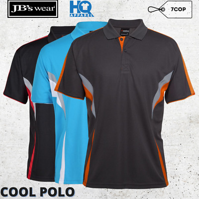Mens Podium Cool Polo Polyester Collar Casual Shirt S - 5Xl New Jb 7Cop