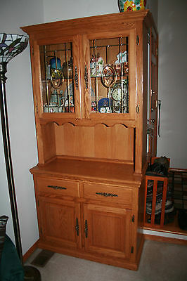 Antique china cabinet - great condition