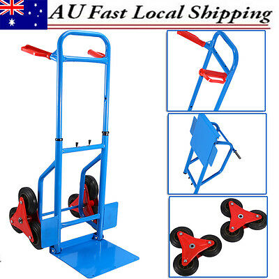 Trolley Hand Truck Loads 200KG Heavy Duty Compact Six-Wheeled Stair Climber Cart