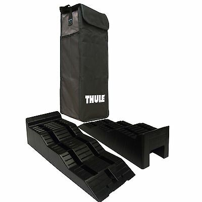 Thule Caravan and Motorhome Level Ramps Twin Pack with carry Bag