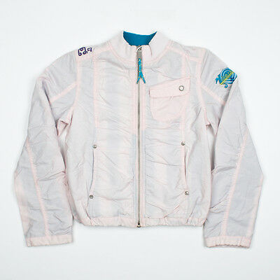 Diesel Girls Janzio Jacket Kids Coat Pale Pink Age 8 Years NEW RRP £74.99