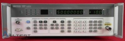 HP/Agilent 8656B Synthesized Signal Generator 0.1 to 990 MHz