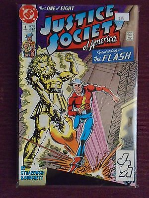 Justice Society of America #1 to #8 - Eight book SET NM - 1991