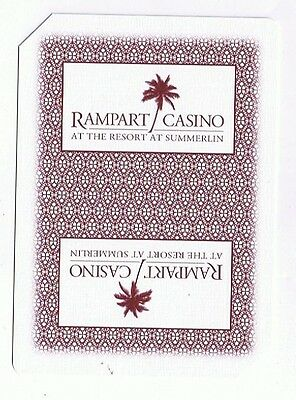 Rampart Hotel & Casino - Deck Of 52 Casino Playing Cards & Box