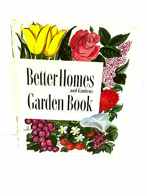 Vintage Garden Book 1954 Better Homes And Gardens Hard Cover