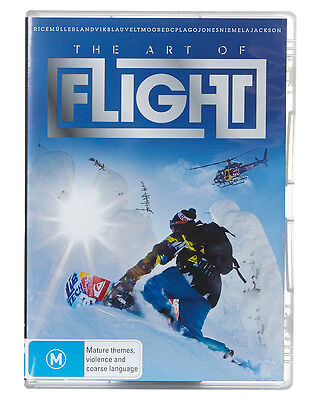 New Garage Entertainment The Art Of Flight Dvd Video Movie Film Multi N/A