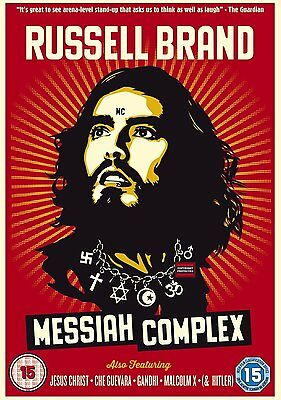 Russell Brand DVD Messiah Complex Disc Only NEW