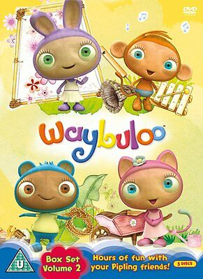 Waybuloo Collection - Box Set 2 - Volume 6 - 10 (5 Discs) **NEW & SEALED**