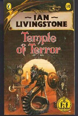 Temple of Terror: Fighting Fantasy Gamebook 14 ... by Ian, Livingstone Paperback