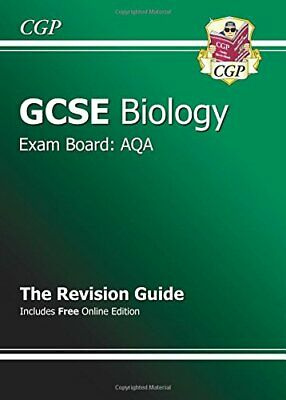 GCSE Biology AQA Revision Guide (with online edition) ... by CGP Books Paperback