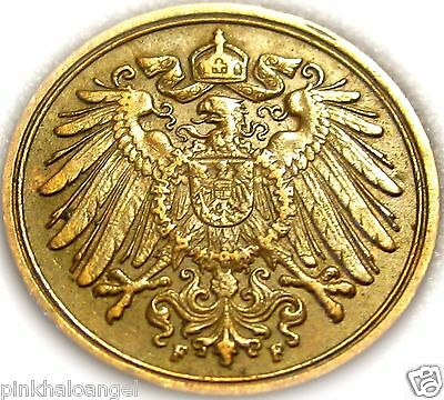 Germany - The German Empire - German 1915F Pfennig Coin - Great Coin