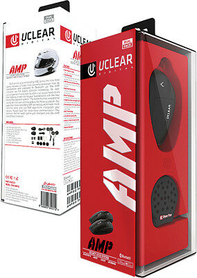 UClear AMP Bluetooth Headset SINGLE Motorcycle Helmet  Intercom