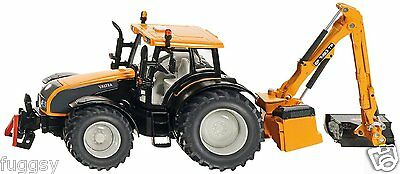 SIKU  DIECAST Valtra S-Series Tractor with Kuhn Hedge Cutter NEW #3659 1:32