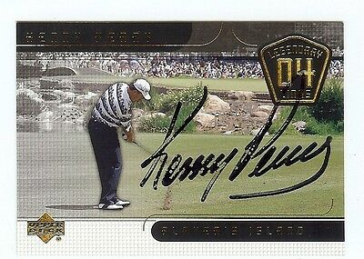 "KENNY PERRY 2004 UD ""Legendary Links"" PGA Golf SIGNED AUTOGRAPH Tour Card #82"
