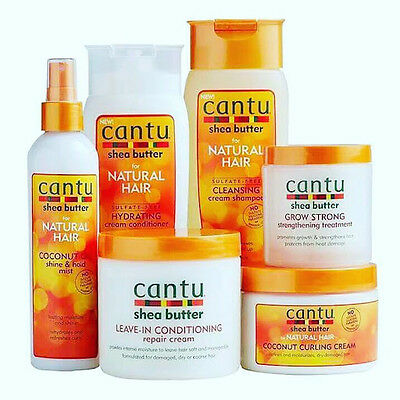 CANTU SHEA BUTTER & NATURAL HAIR CARE AFRO HAIR PRODUCT ALL ITEMS + Free P&P