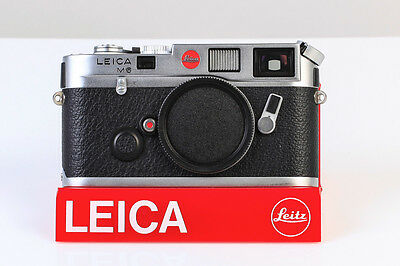 5-004 Leica M6 Benelux Demo Body           Silver Chrome Finish
