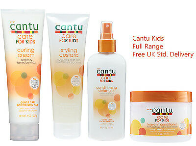 Cantu Care For kids Gentle care for textured Hair Range