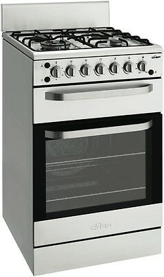 NEW Chef CFG517SALP 54cm Gas Upright Cooker