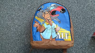 Rare ALF Rucksack - Superb Condition - 1987
