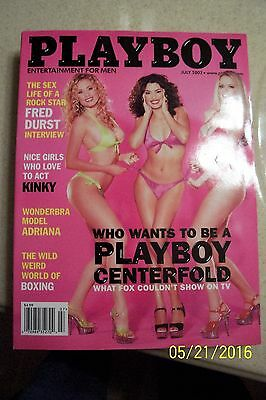 Playboy Magazine - July 2002