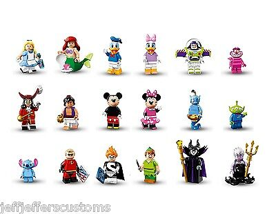 CHOOSE YOUR OWN OR FULL SET - LEGO Disney & Pixar Collectable Mini Figures NEW