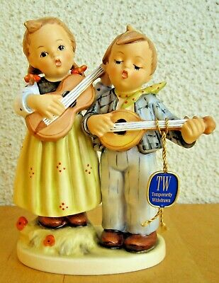 "Hum 150/1 Happy Days Tm7 Goebel M.i. Hummel Figurine 150/i Mint 6 1/2"" Tall $510"