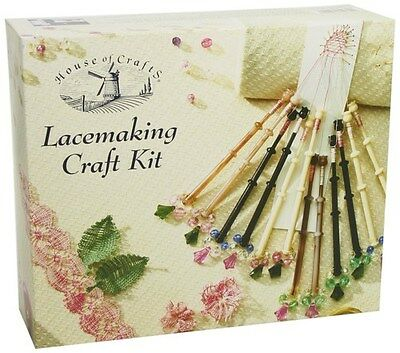 House of Crafts Lacemaking Craft Kit STYLE A