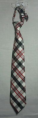 Childrens Place Red Black White Plaid Size 4-7