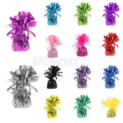 Shimmering Foil Balloon Weights for Wedding Party Baby Shower Anniversary Décor