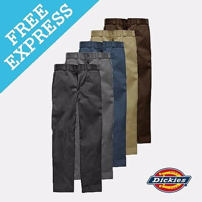 Dickies WP873 Slim Fit Straight Leg Work Pant (Free EXPRESS Shipping Aus Wide)