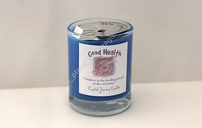 Good Health SCENTED Soy Wax Herbal Glass Votive Candle