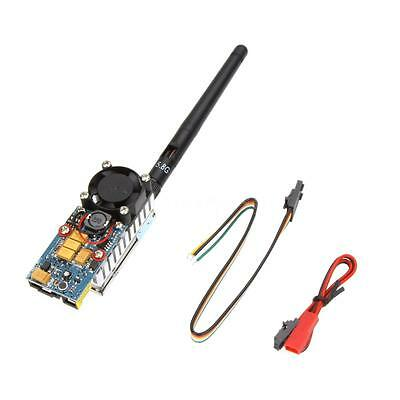 FPV transmisor inalámbrico TS582000 5.8G 2000MW 8CH AV Video Audio Remitent M3R3