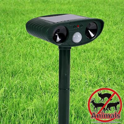 Ultrasonic Cordless Repeller Safely Repel Various Animals Pest