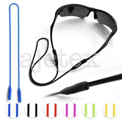 Silicone Glasses Chain Strap Cord Holder Neck Lanyard 53cm for Reading Keeper