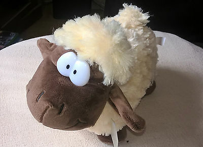 QUALITY Soft Toy Funny Sheep 30cm Long 25cms High BRAND NEW and Tagged Present
