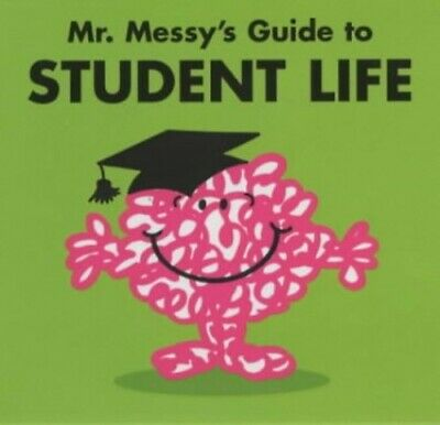 Mr. Messy's Guide to Student Life (Mr Men) Paperback Book The Cheap Fast Free