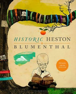 Historic Heston by Heston Blumenthal (English) Hardcover Book Free Shipping!