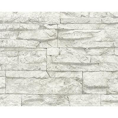 AS Creation Stone Wall Pattern Wallpaper Embossed Faux Effect Brick Roll 707161