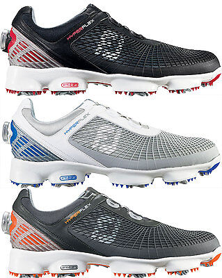 FootJoy Hyperflex BOA Golf Shoes Lightweight Mens New - Choose Color & Size!