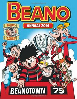 Beano Annual 2014 (Annuals 2014) by DCTHOMSON Book The Cheap Fast Free Post