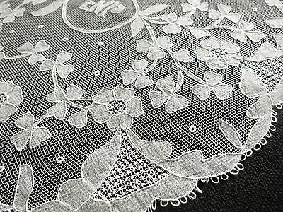 RARE, SO BEAUTIFUL Antique Irish CARRICKMACROSS LACE 10 Placemats DAINTY & FINE