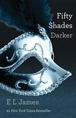 Fifty Shades Darker: 2/3 (50 Shades Trilogy) by James, E L Book The Cheap Fast