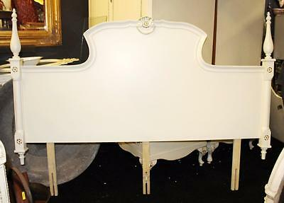 Carved Cream Louis XV Style Headboard